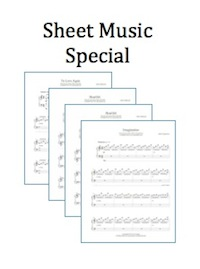 Solo piano sheet music